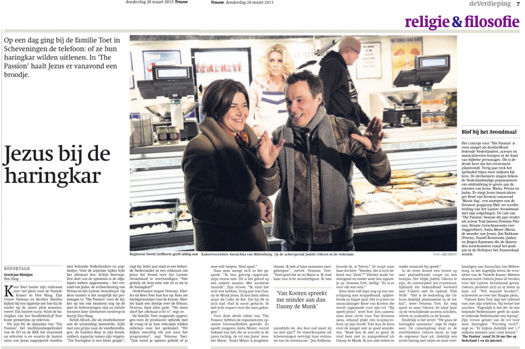 Volkskrant The Passion